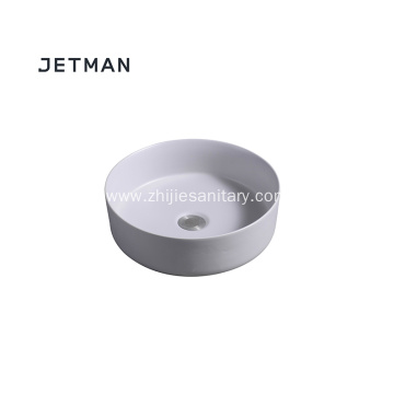 Light grey color sink art basin ceramic
