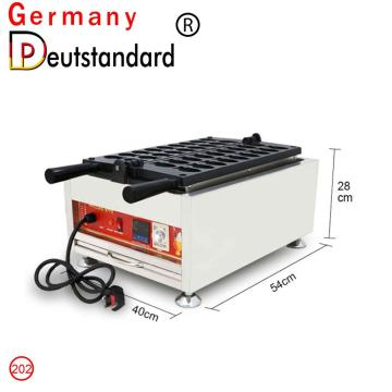 Commercial fish waffle maker digital waffle machine with CE for sale