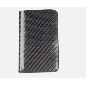 Carbon fiber credit card holder for business man