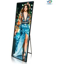 P3 mirror led poster display advtising