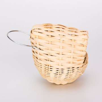 Percell Egg Shaped Small Rattan Bird Nest