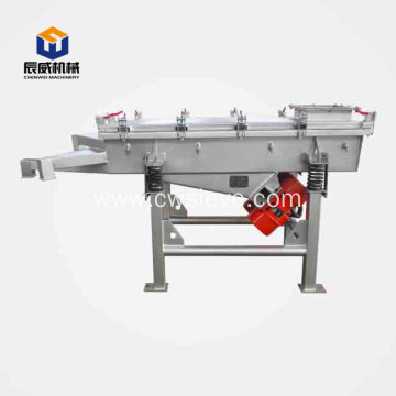 linear vibrating screen for lead powder