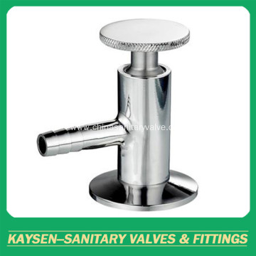 Sanitary clamped sample valves