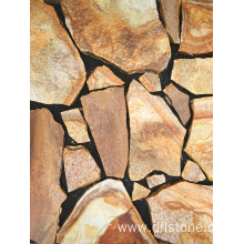 Golden Natural Paving Stone Tile for Outside Floor