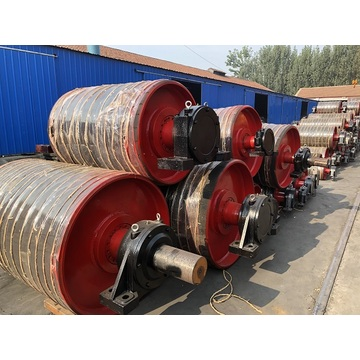 Conveyor drum roller and pulley