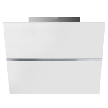 White Smeg Hoods Tempered Glass Surface