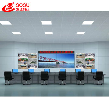 55inch 1.7mm Samsung lcd publicidad empalme video wall