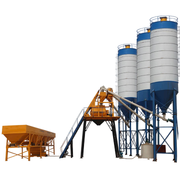 mini mixer concrete batching plants hzs75