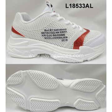 Lady PVC sports running shoes