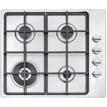 4-Burner Gas Cooker 60 CM