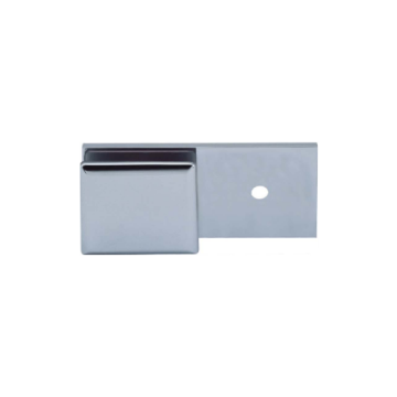 Wall to Glass Stainless Steel Clamp 180 Degree