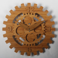 Bamboo Wheel Gear Wall Clocks