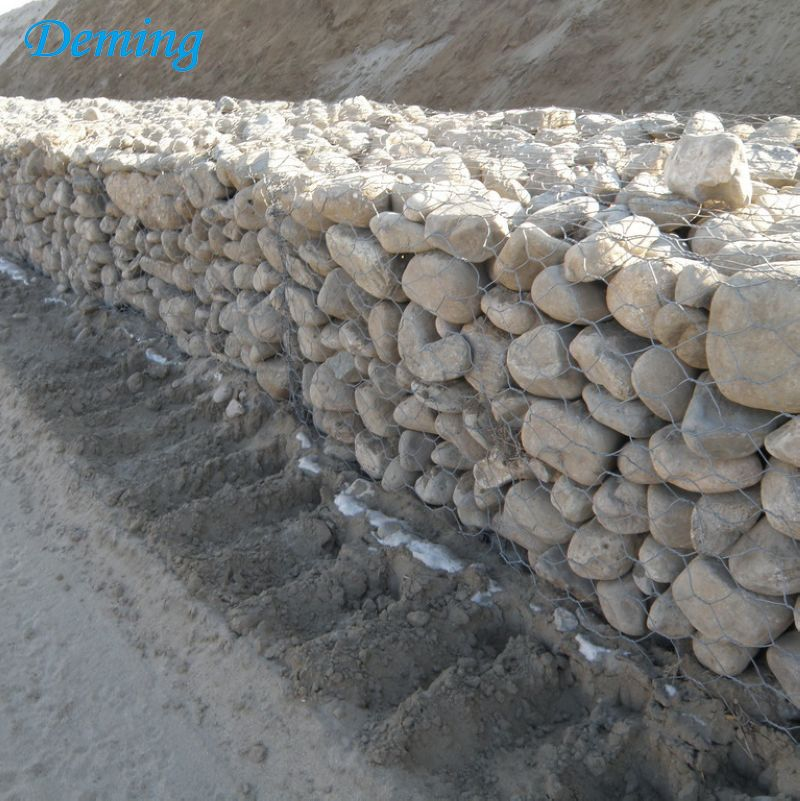 Factory price woven gabion basket mesh for sale