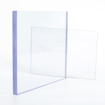 Lexan sheet UV coating clear polycarbonate sheet