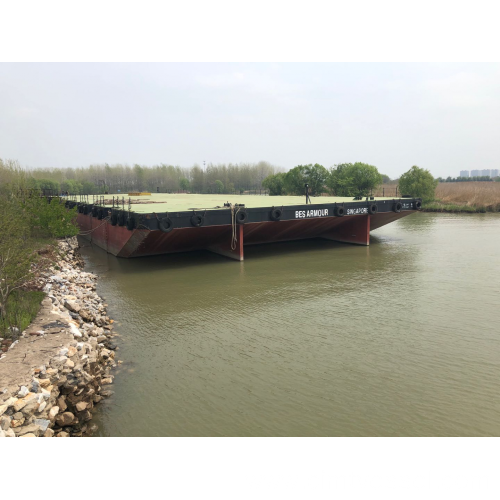 300FT Non Self-Propelled Deck Barge Build In 2017