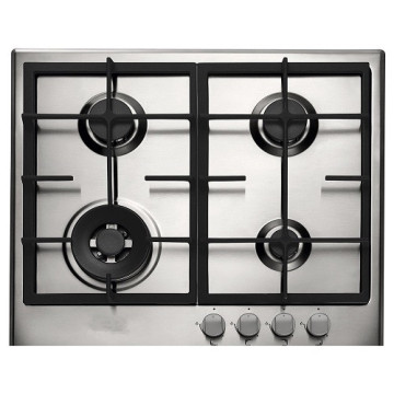 Stainless Built-in Stove Brastemp 4 Burners