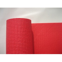 Normally PVC foam yoga mat