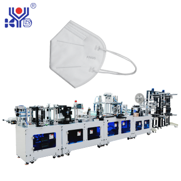 Fully Automatic High Speed Folding Mask Making Equipment