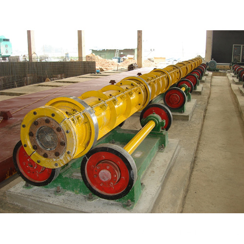 Concrete Spun Pile Spinning Machine