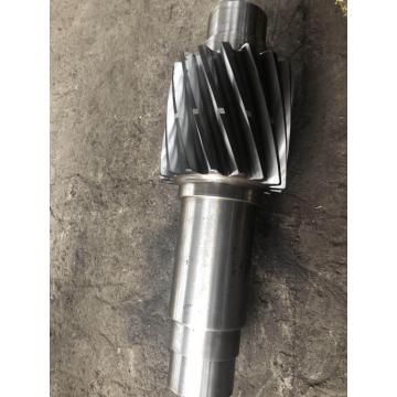 Fixed gear shaft with forged machining