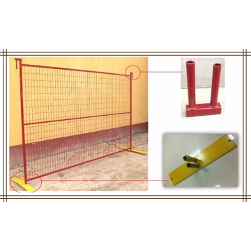2.4×2.1m temporary fencing panel