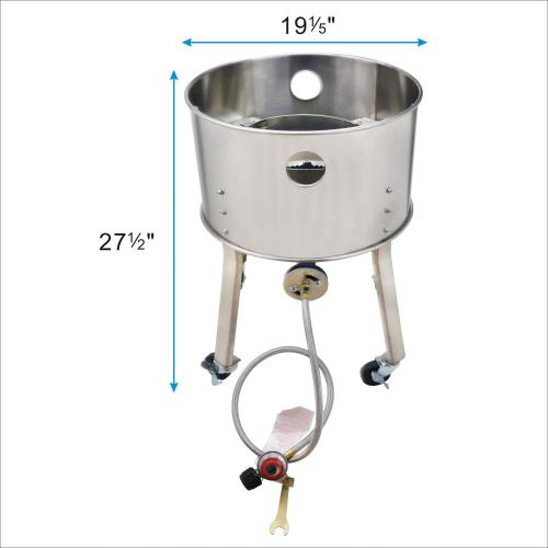 200000 BTU Stainless Steel Outdoor Camping Burner Stove
