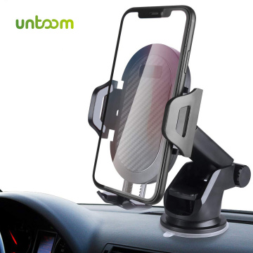 Untoom Windshield Car Phone Holder 360 Rotation Car Mount Phone Holder for iPhone Xs Max Xr X Dashboard Phone Holder for Samsung