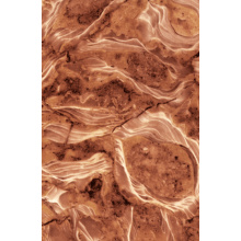 High glossy UV coating PVC marble sheet and profile