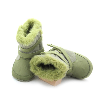 Hard Sole Genuine Leather Winter Baby Boots