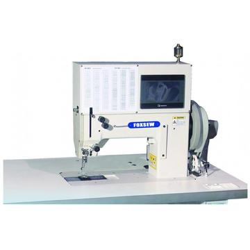 Heavy Duty Single/Double Needles Electronic Pattern Sewing Machine