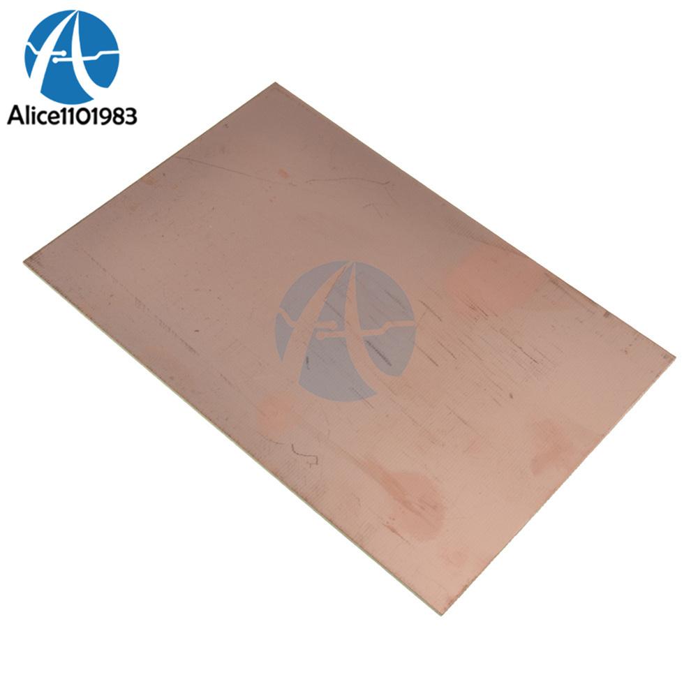 1Piece Breadboard 10x15cm Single Side PCB Copper Clad Laminate Board FR4 44.7G Universal Prototype 1.2MM Keep Clear DIY KIT
