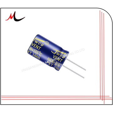High voltage electrolytic capacitors 100uf 400v 18*40mm JWCO