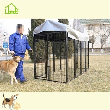 Large metal Welded mesh dog kennel