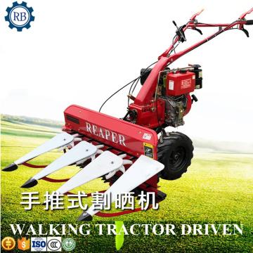 Multifunctional crop harvesting machine lavender barley sorghum wheat grain mini harvester weed grass cutter paddy rice reaper