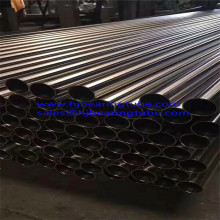 Welded Stainless Steel Tubing 316ss polished stainless pipes