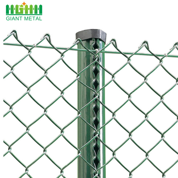 Factory Direct Sale Diamond Hole Chain Link Fence