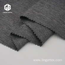 Heather Grey Polyester Rayon Spandex Roma Fabric
