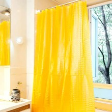 Shower Curtain PEVA Classic Yellow