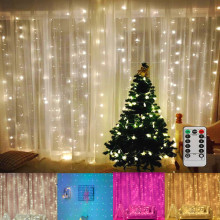 USB Led String Lights Curtain Party Wedding Lights Christmas Lights Fairy String Lights for Bedroom