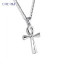 Wholesale Stainless Steel Egypt Ankh Cross Necklace