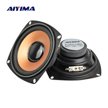AIYIMA 2Pcs 4Inch 4Ohm 5W Audio Speaker Bass Woofer Loudspeaker DIY For Stereo Bluetooth Speaker Home Theater Sound System