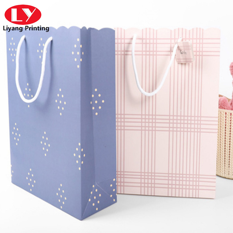Solid Color Portable Paper Bag