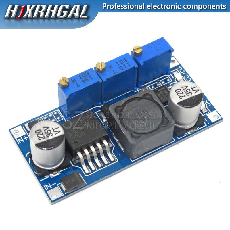 1PCS LM2596 LED Driver DC-DC Step-down Adjustable CC/CV Power Supply Module