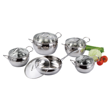 10PCS Cookware Set in Apple Shape