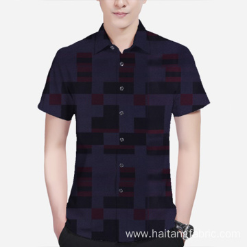 Check Modal Fabric Check Shirt Fabric Occupational Apparel