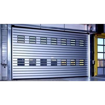 The transparent crystal acrylic glass high speed door