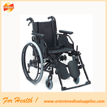 lightweight aluminum folding wheelchair for disabled people
