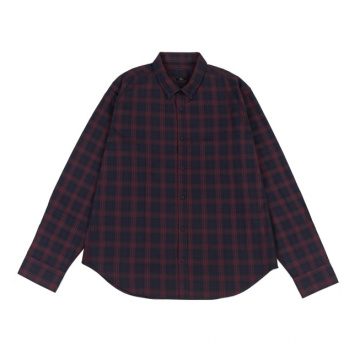 Men's Woven Shirts in Autumn and Winter