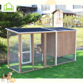 Hot insulated fir wood chicken coops
