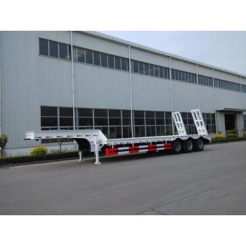 60 Tons Low-bed Semi Trailer Truck